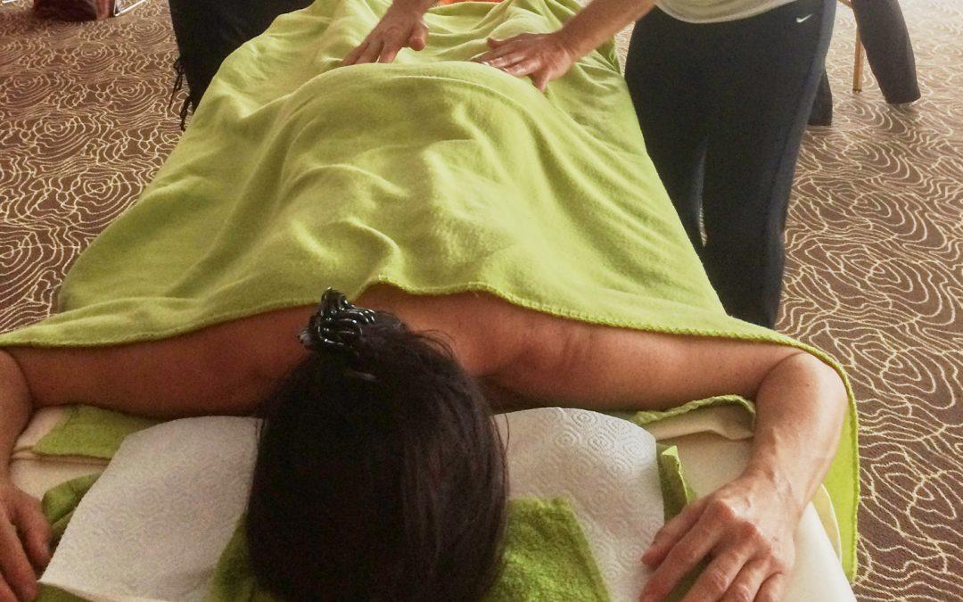 Aponi® die indianische Schmetterlingsmassage