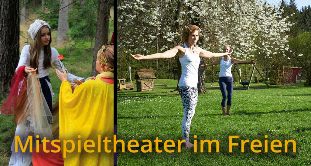 An der Quelle   Erzählkunst und Mitspieltheater im Freien.